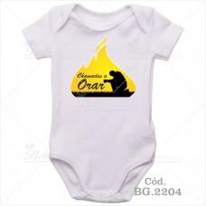 Body Bebê Chamados a Orar