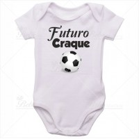 Body Bebê Futuro Craque
