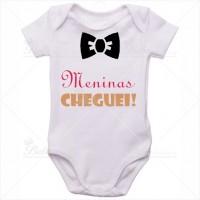 Body Bebê Meninas Cheguei