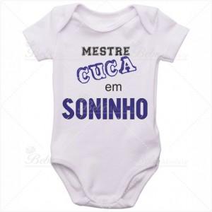 Body Bebê Mestre Cuca em Soninho