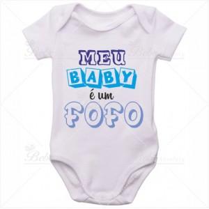 Body Bebê Meu Baby é um Fofo