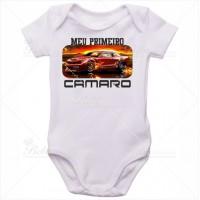 Body Bebê Meu Primeiro Camaro