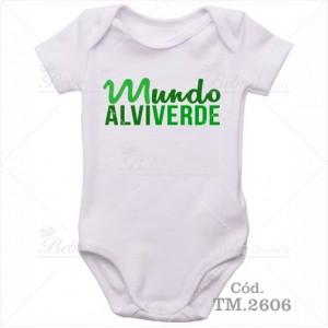Body Bebê Mundo Alviverde