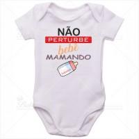 Body Bebê Não Perturbe Bebê Mamando