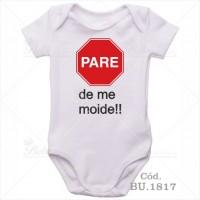 Body Bebê Pare de me Moide