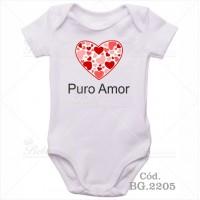 Body Bebê Puro Amor