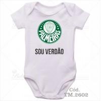Body Bebê Sou Verdão Palmeiras