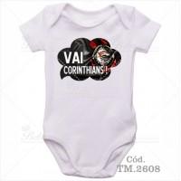 Body Bebê Vai Corinthians