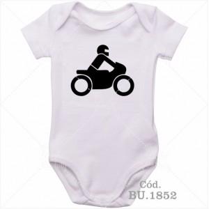 Body Bebê Motoqueiro