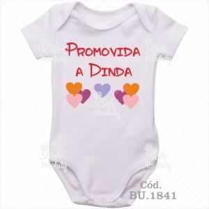 Body Bebê Promovida a Dinda