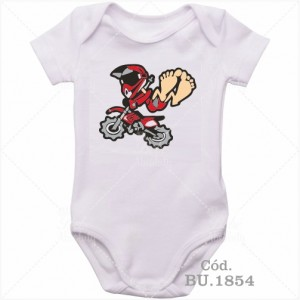 Body Bebê Rali Moto