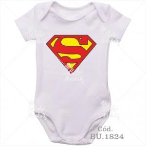 Body Bebê Super Man