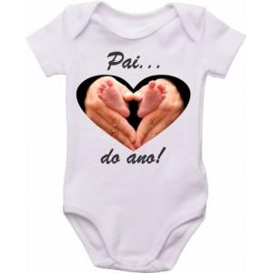 Body Bebê Pai do Ano