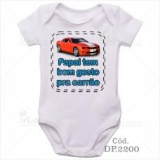 Body Bebê Papai Tem Bom Gosto Pra Carrão