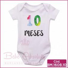 Body 10 Meses - BM1608.10