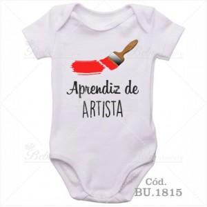 Body Bebê Aprendiz de Artista