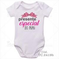 Body Bebê Presente Especial do Papai