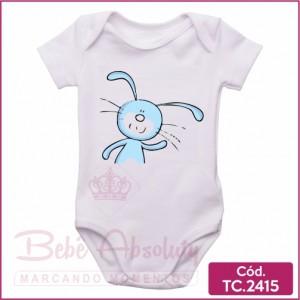 Body Bebê Coelhinho da Páscoa