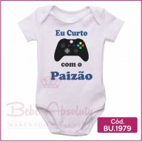 Body Eu Curto Vídeo Game com o Papai - BU1979