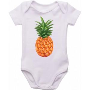 Body Bebê Abacaxi
