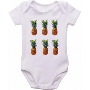 Body Bebê Abacaxis