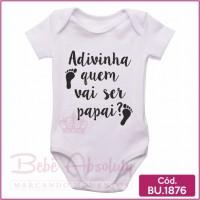 Body Bebê Adivinha Quem Vai Ser Papai?