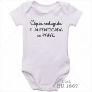Body Bebê Cópia Autenticada