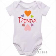 Body Bebê Dinda