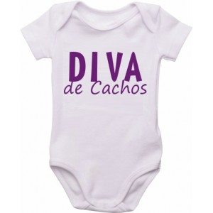 Body Bebê Diva de Cachos