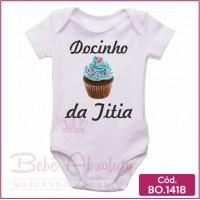 Body de Bebê Docinho da Titia