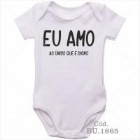 Body Bebê Eu Amo