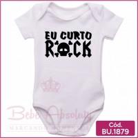 Body Bebê Eu Amo Rock