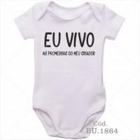 Body Bebê Eu Vivo