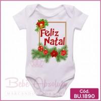 Body Bebê Feliz Natal