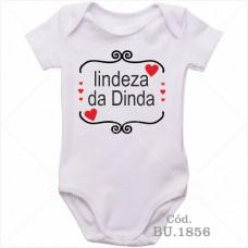 Body Bebê Lindeza da Dinda