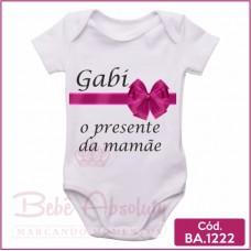 Body de Bebê O Presente da Mamãe