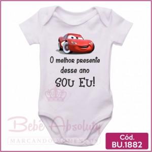 Body Bebê O Melhor Presente Desse Ano Sou Eu Carros