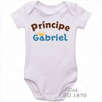 Body Bebê Príncipe