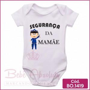 Body Bebê Segurança da Mamãe