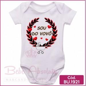 Body Bebê Sou do Vovô