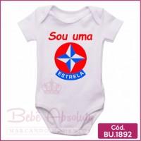 Body Bebê Sou uma Estrela