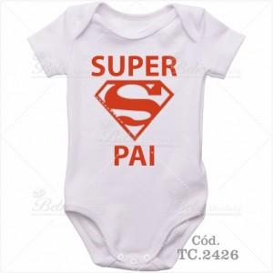 Body de Bebê Super Pai