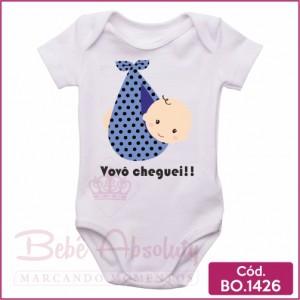 Body Bebê Vovô Cheguei