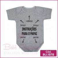 Body Instruções para o Papai - BU1978