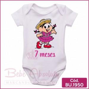 Body Bebê Meu Primeiro Arraiá 7 Meses