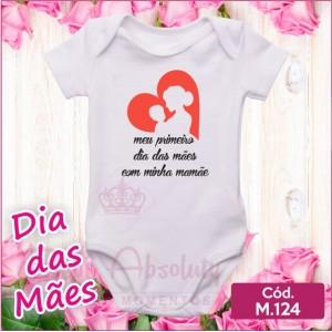 Body Dia das Mães - M.124