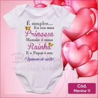 Body  Menina 11 / Sou Uma Princesa