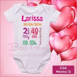 Body Menina 13 / Nascimento