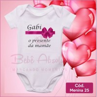 Body Menina 25 / O Presente da Mamãe