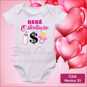 Body Menina 35 / Bebê Ostentação
